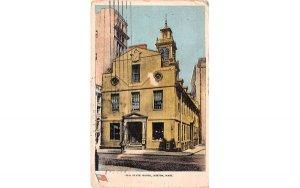 Old State House Boston, Massachusetts Postcard