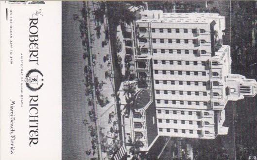 Robert Richter Hotel Miami Beach Florida