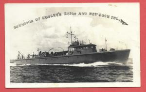 Naval Ship - Souvenir of Dooley's Basin and Drydock, Inc.