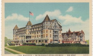 SPRING LAKE BEACH , New Jersey , 30-40s ; Hotel The WARREN on the Ocean