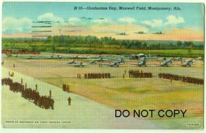 Graduation Day, Maxwell Field, Montgomery Ala