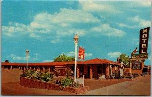 Salinas, California Postcard CASA LINDA MOTEL 1109 North Main St. c1960s Unused