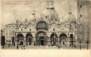 CPA VENEZIA Basilica S. Marco. ITALY (523236)