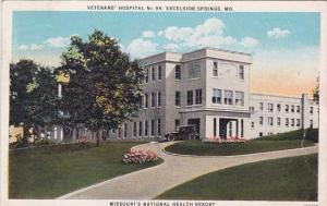 Veterans Hospital No 99 Excelsior Springs Missouri 1927