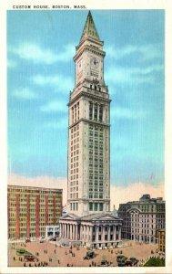 Massachusetts Boston Custom House