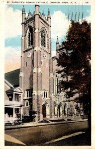 New York Troy St Patrick's Catholic Church 1927