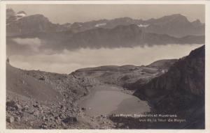 RP, Lac Mayen, Diablerets Et Muverans Vus De La Tour De Mayen, Germany, 1920-...