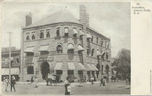 Post Office, Asbury Park, New Jersey, Early Postcard, Undivided Back, Unused