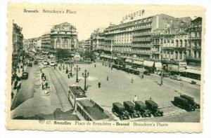 Brussels, Belgium, 20-40s   Brouckere's Place