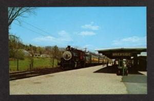 VT Railroad Train Station Depot RIVERSIDE VERMONT PC RR