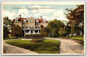 Beloit KS~State School for Girls~Reform School Main Building~Myrtle McDole~1916
