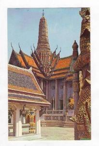 Emerald Buddha temple, Bangkok, Thailand, 50-60s
