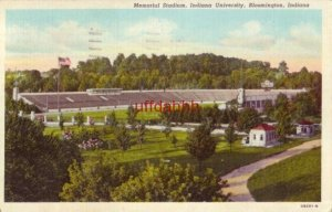 MEMORIAL STADIUM INDIANA UNIVERSITY BLOOMINGTON 1944