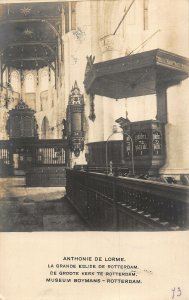 Netherlands Anthonie de Lorme La Grande Eglise de Rotterdam Chruch Postcard