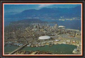 Canada Spectacular Panoramic Aerial View Of The Beautiful City Of Parks And F...
