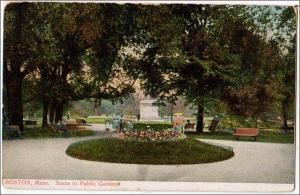 Public Garden, Boston Mass