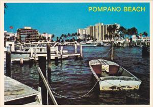 Boats On Atlantic Intracoastal Waterway Pompano Beach Florida