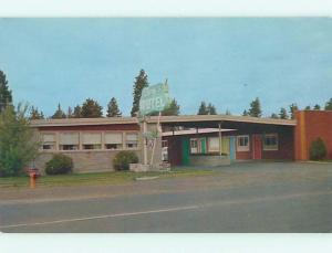 Unused Pre-1980 BERG'S MOTEL Bend Oregon OR u1926