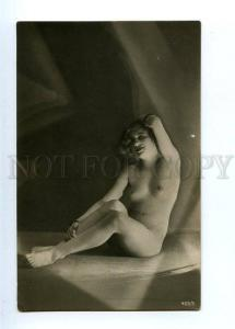 129074 Illuminated NUDE Woman BELLE Nymph Vintage PHOTO PC