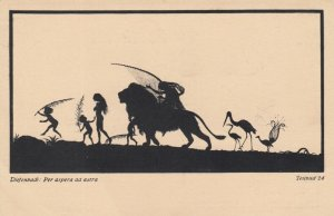 DIEFENBACH : Fantasy Silhouette , 00-10s ; Teilbild 24