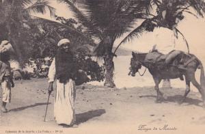 VENEZUELA , 00-10s ; Playa de Macuto , donkey