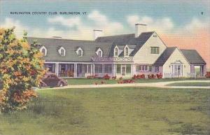 Vermont Burlington Burlington Country Club