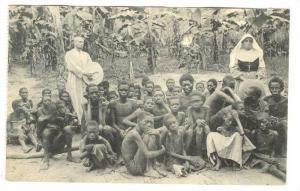 Children, Malades Du Sommeil Au Lazaret De St. Trudon, Scheut, Africa, 1900-1...