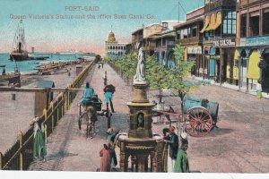 PORT SAID , EGYPT , 00-10s ; Queen Victoria's Statue
