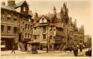 UK - Scotland, Edinburgh. John Knox's House