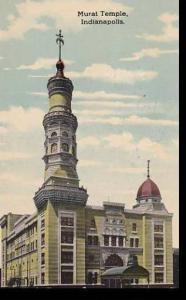 Indiana Indianapolis Murat Temple 1917