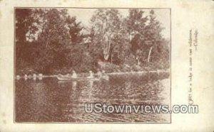 Cedar lake in West Milan, New Hampshire