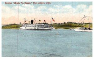 Connecticut  New London ,   Steamer Chester W .Chaplin