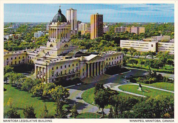 Canada Manitoba Legislative Buildings Winnipeg Manitoba