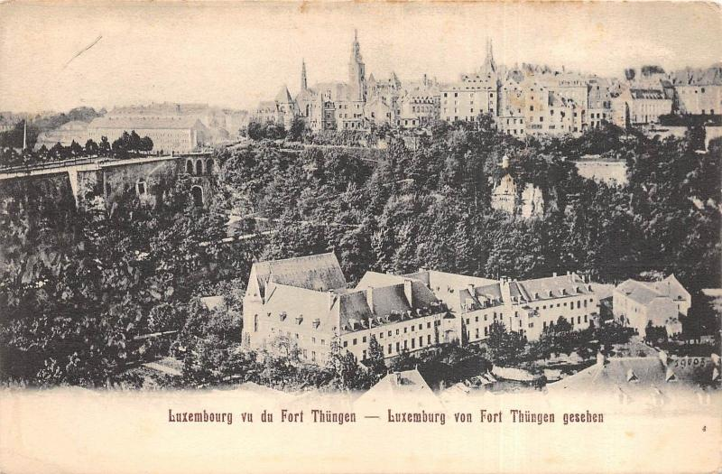 Br35732 Luxembourg Fort Thungen luxembourg