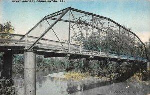 LP71  Franklinton  Louisiana Steel Bridge Postcard