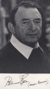 Morris Ransome Bernard Spear Antiques Man Albion Market Printed Signed Cast Card