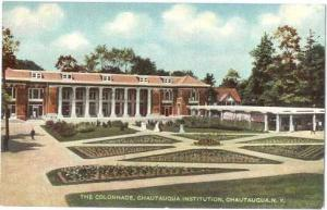 The Colonnade, Chautauqua Institution, Chautauqua, New York State, Double Back