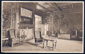 Audience Chamber Holyrood Palace unused c1930's