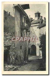 CARTE Postale Old Passage Annecy Nemours and Porte St. Clare