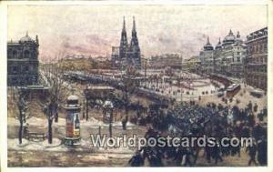 Austria Wien - Vienna Maximilian plat mit Votivkirche