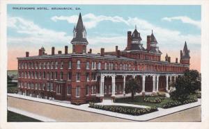 BRUNSWICK, Georgia; Oglethorpe Hotel, 10-20s