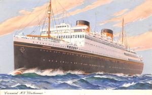 Cunard MV Britannic Ship Unused