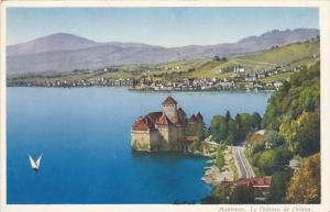 Switzerland Montreux Le Chateau de Chillon