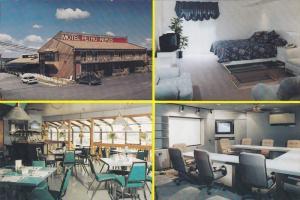 Motel Petro Repos, Inside View, Route 111, AMOS, Quebec, Canada, 50-70's