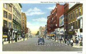Merrimack St. Lowell MA Unused