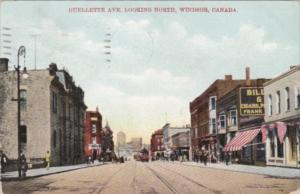 Canada Ontario Windsor Ouellette Avenue Looking North 1909