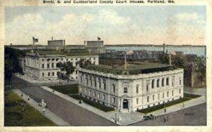 U.S. & Cumberland County Court House in Portland, Maine