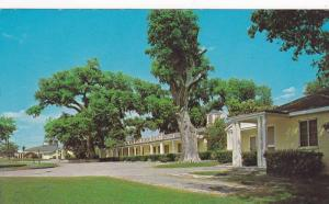 Exterior,  Gardens Corner Motel and Restaurant,  Yemassee,  South Carolina,  ...