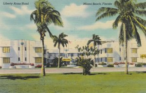 MIAMI BEACH , Florida, 1930-40s ; Liberty Arms Hotel