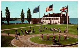 New York  Youngstown , Flags of Fort Niagara